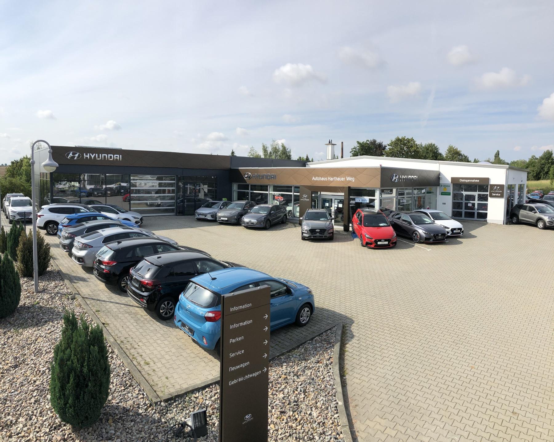 Hyundai Autohaus Harthauer Weg in Crimmitschau - Außenaufnahme